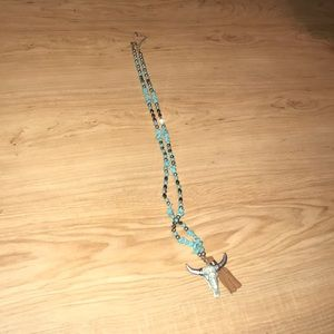 Jewelry - WESTERN TURQUOISE NECKLACE!🤠